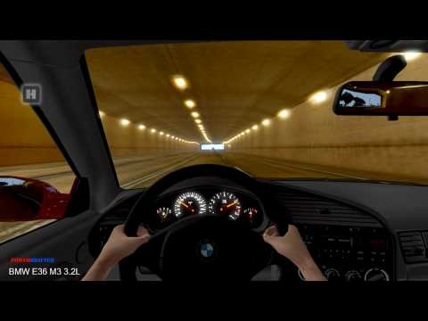 Test Drive Unlimited - BMW E36 M3 3.2L Tunnel Fun HD