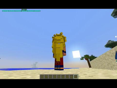 Como Transformarse En Super Sajajin 1,2 y 3 en Minecraft 1.6.2