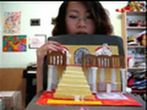 How to make a 3D pop-up card or book