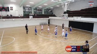 ЦСКА vs БУЛТЕКС 99, Финали момчета до 12г. - 7/8 място