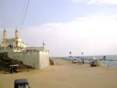 vizhinjam harbour sea port  near mosque