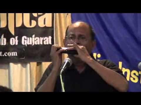 Jara Hole Hole Chalo More Sajana on Harmonica by Nachiketa Desai...