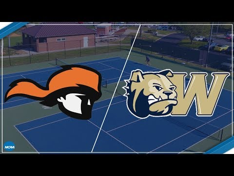 2018 South Atlantic Conference Women's Tennis - Tusculum at Wingate (Court 3)