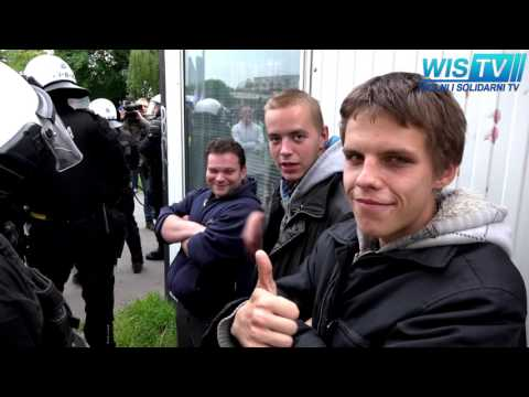 WIS TV - SAMA AKCJA  - ZADYMA - Sprawa Igora S. Wrocław 18-05-2016