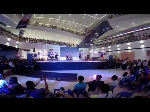 Korean Bboys (Gorilla Crew) perform at SM Bacolod City