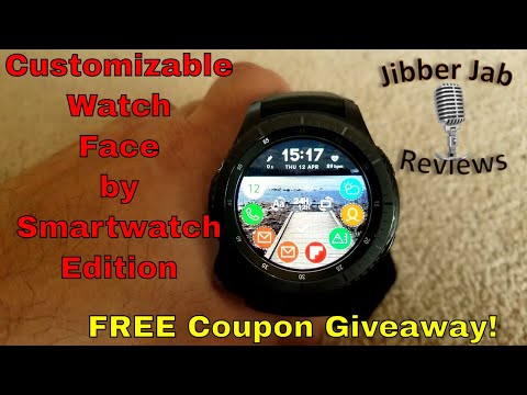 Samsung Gear S3/Gear Sport Highly Customizable Watch Face by Smartwatch Edition FREE Coupon Giveaway