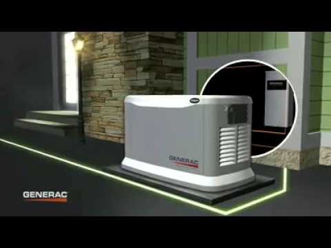 How do Standby Generators work when there is a power...