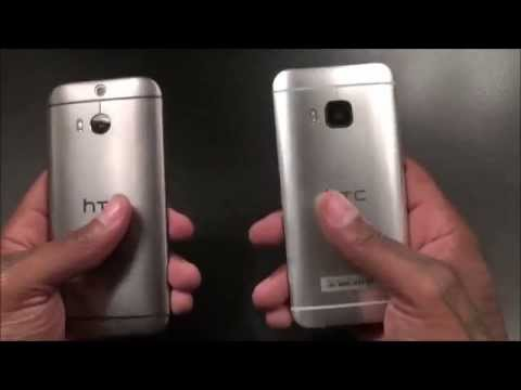 HTC One M9 Unboxing and First Impressions