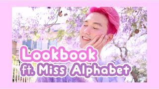 I MADE MY FIRST LOOK BOOK! Ft. Miss Alphabet
