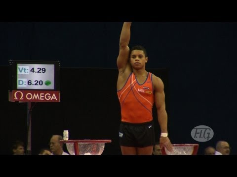 Olympic Qualifications London 2012 -- Jeffrey WAMMES (NED) - VT