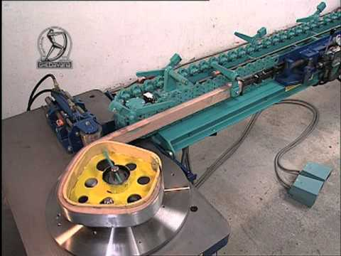 Solid Wood Bending Machine for closed circles or worms