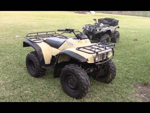 1999 Honda Fourtrax TRX300FW - Walk Around and Review
