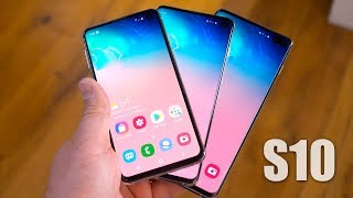 Galaxy S10 vs S10 Plus vs S10e: Which One Should You Buy?