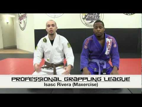 PGL Professional Grappling League - Instructional with Isaac Rivera - Spider Guard Sweep with Switch Image 1