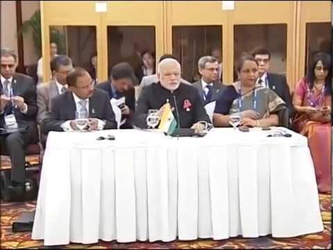 PM Narendra Modi meets BRICS leaders before G20 summit