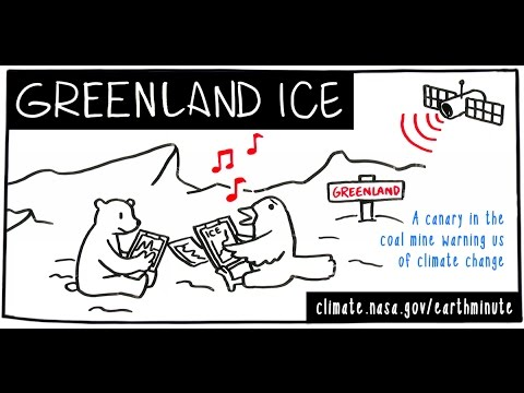 NASA's Earth Minute: Greenland Ice