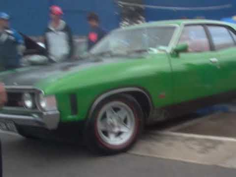 falcon GT HO PHASE 4  CALYPSO GREEN TRIBUTE 3 LP.