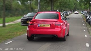Audi RS4 Sedan with Milltek straight pipe - Loud Revs and Accelerations!