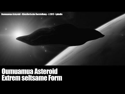 Oumuamua Asteroid - Extrem seltsames Objekt