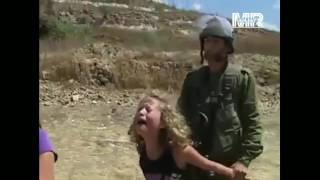 Sikap Tentara Israel Terhadap Perempuan Muda Palestina!!!