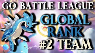 GO Battle League: Team That Got Me To #2 In The World! (Great League)
