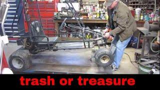 will it run? free junk gokart