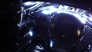 Kawasaki Vn 900 Custom Lights and Sound
