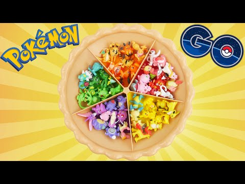 Learn colors with Pokemon GO sorting pie