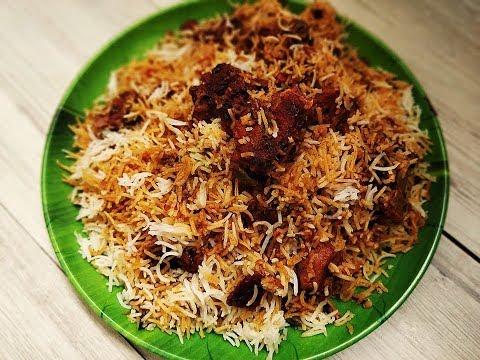 Mutton dum biryani | Hyderabadi mutton dum biryani | Mutton biryani recipe