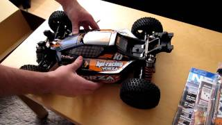 Unboxing my new HPI Vorza Flux 2.4GHz