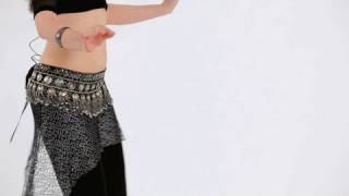 How to Do a Walking Shimmy | Belly Dancing
