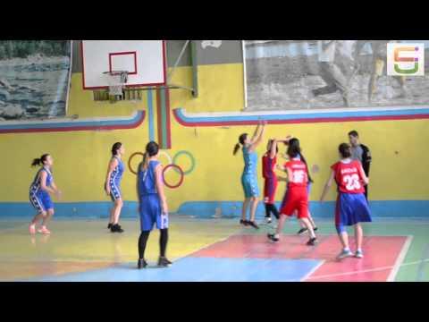 Женская сборная АГУ по баскетболу игра с АИСИ 23 ноября 2014