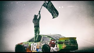 'Gritty' Kyle Busch made No. 18 iconic in NASCAR