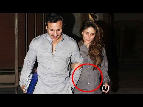 Kareena Kapoor Khan 3 Months PREGNANT !!