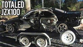 Mountain Street Drifting - Near Death Crash