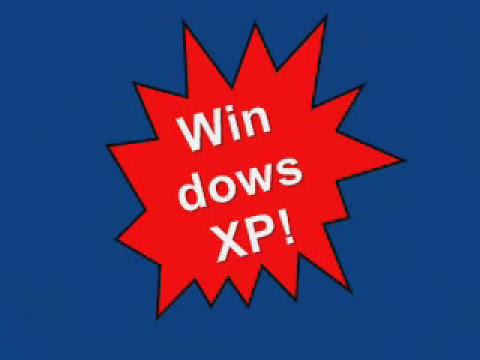 Microsoft SAM sings about Windows XP
