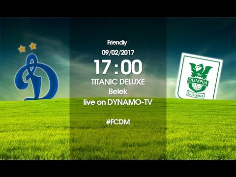 «Динамо» vs «Олимпия» - Live! | Dynamo vs Olimpija – Live!