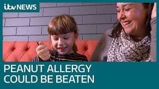 Severe peanut allergy could be overcome by building up tolerance  | ITV News