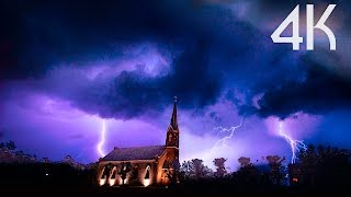 ''Storm Chasing'' 4K UHD Lightning/Thunderstorms Timelapse Photography Video