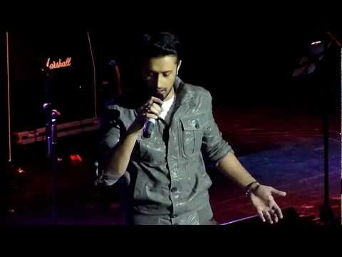 Atif Aslam talking about his wedding & Pehli Nazar Mein - Manchester...