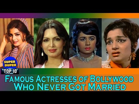 Famous Actresses of Bollywood Who Never Got Married - HD Latest 2018
