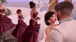 Jorden & Lissa Second Life Wedding  - 12.30.17