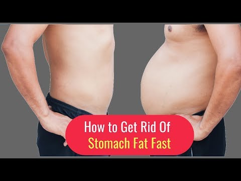 How to Get Rid of Stomach Fat Fast