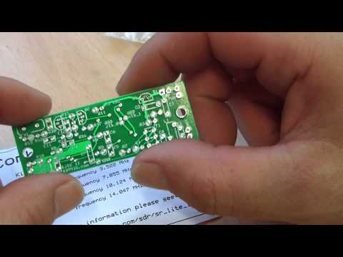 SDR KIT Softrock lite II Receiver first contact...