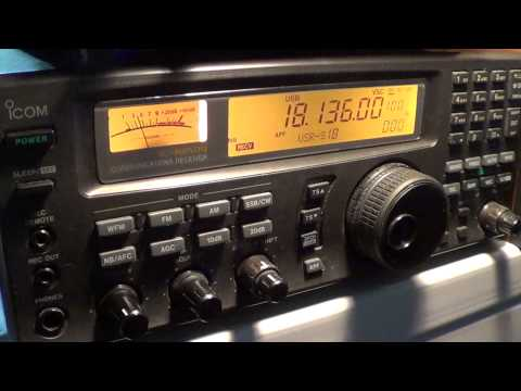 JF1KFR Japanese amateur radio station on 17 meters