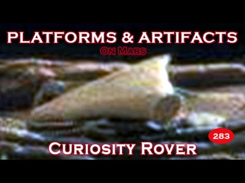 Artifacts, Platforms & More Imaged By NASA's Curiosity Rover SOL 821