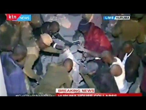 Colapsa un edificio en Nairobi donde vivían 150 familias