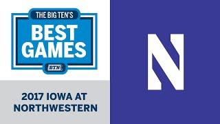 2017 Iowa at Northwestern | Big Ten Football | Big Ten