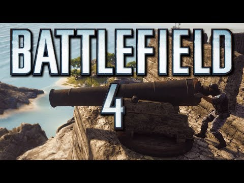 Battlefield 4 Online Funny Moments - Cannon Ball vs Jet, Glitches, Helicopter Challenge! (Funtage)