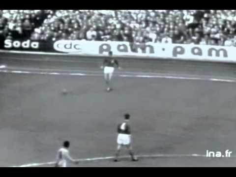 França 2x3 Brasil - 28/04/1963 - Paris - Completo 3 gols de Pelé